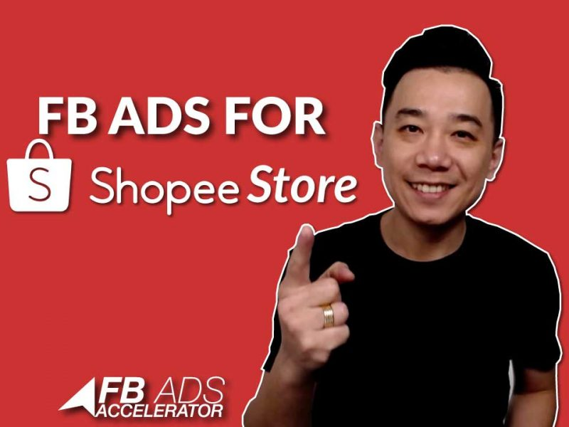 Facebook Ads for Shopee Store