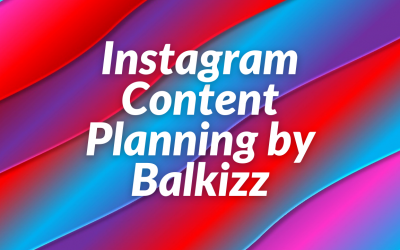 Instagram Content Planning Course by Balkizz