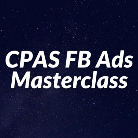 CPAS Facebook Ads Masterclass
